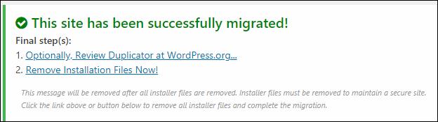 WordPress移行が完了するとこんな画面が表示されたはず