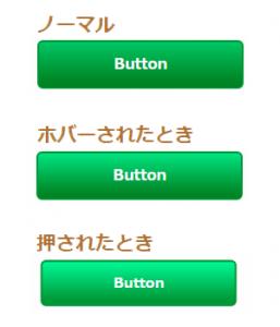 CSSでカスタマイズしたグラデーションありのリンクボタンの表示例