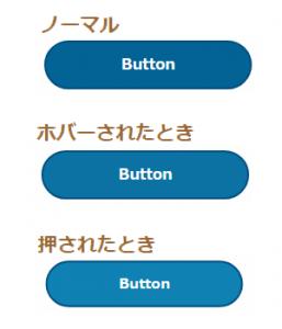 CSSでカスタマイズした平面的だけど丸っぽいリンクボタンの表示例