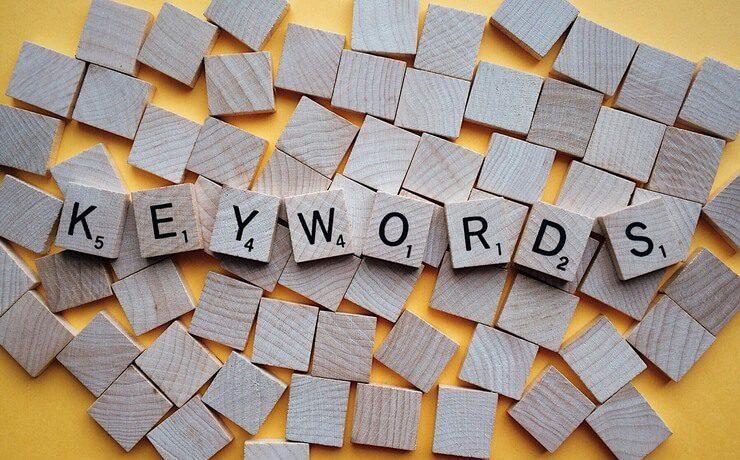 キーワードからドメイン名を自動生成する要素をイメージした画像