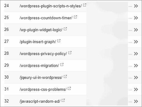 WordPressのパーマリンクをカスタム構造にするとアナリティクスや Serch Console の記事一覧が見やすくなる