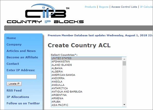 特定の国にアクセス制限をかける.htaccessを作成できるサービスCIPB