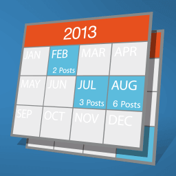 日々の投稿をカレンダー表示!Archives Calendar Widget の使い方