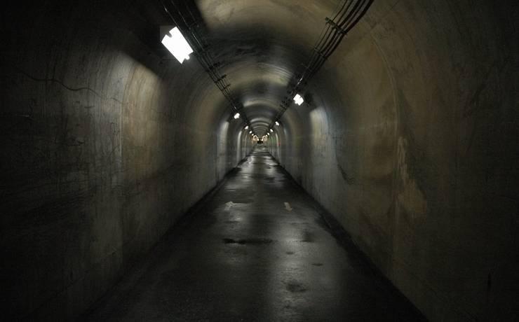 ネット上の情報を鵜呑みにして挫折してしまう人をイメージした果てのないトンネルの画像